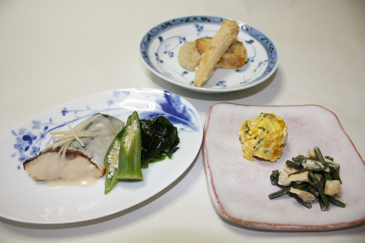 (メニューの一例)鯖の味噌煮